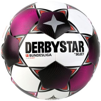 DERBYSTAR - Bundesliga Club S-Light Fußball weiß magenta grau
