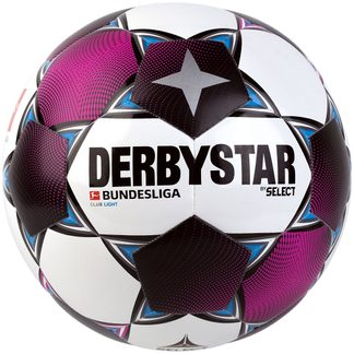 DERBYSTAR - Bundesliga Club Light Fußball weiß magenta grau