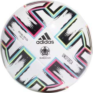 adidas - Uniforia League J290 Fußball Kinder white black signal green bright cyan