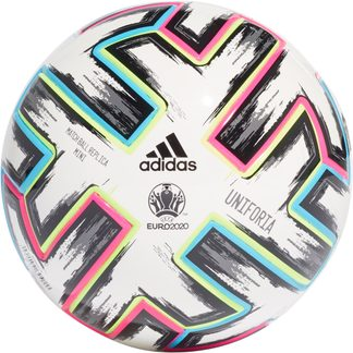 adidas - Uniforia Miniball white black signal green bright cyan