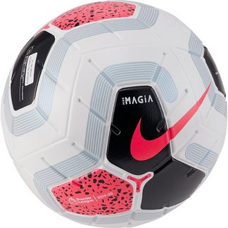 Nike - Premier League Magia Fußball white black cool grey racer pink