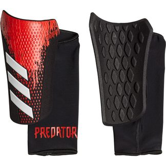 adidas - Predator 20 Competition Shin Guards black active red