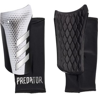 adidas - Predator 20 League Shin Guards white silver metallic black