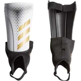 adidas - Predator 20 Match Shin Guards white gold metallic black
