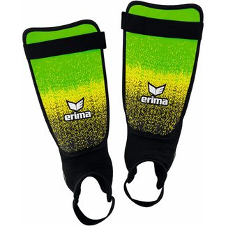Erima - Flex Guard Ergono Shin Guards Kids green black yellow