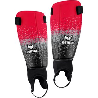 Erima - Bionic Guard Classic Shin Guards red black grey