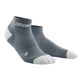 CEP - Ultralight Low-Cut Kompression Socken Damen grau hellgrau