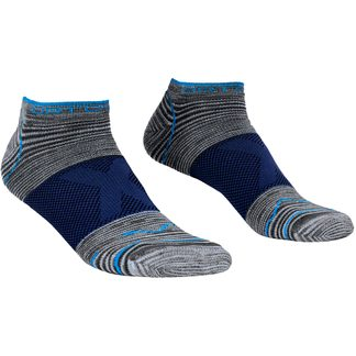 ORTOVOX - Alpinist Low Socken Herren grey blend blau