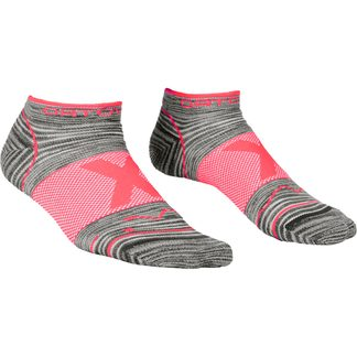 ORTOVOX - Alpinist Low Socken Damen grey blend rot