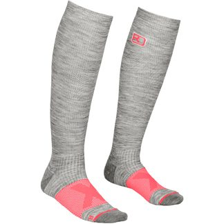 ORTOVOX - Tour Compression Socken Damen grey blend