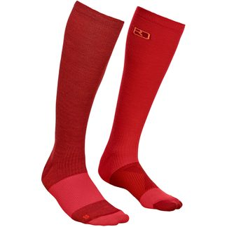ORTOVOX - Socke Tour Light Compression Damen dark blood