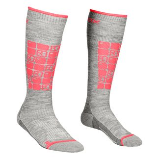 ORTOVOX - Ski Compression Skisocken Damen grey blend