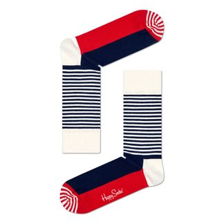 Happy Socks - Half Stripe Sock