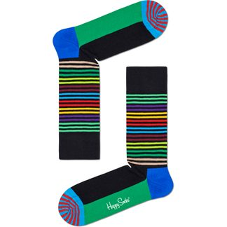Happy Socks - Half Stripe Sock Unisex gestreift