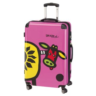 Check.In - Trolley Kuh Familie 108 Liter pink