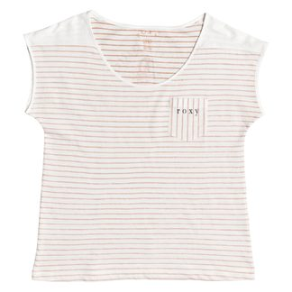 Roxy - Miami Vibes B T-Shirt Damen cafe creme stan stripe