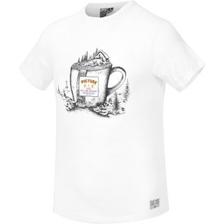 Picture - Cup T-Shirt Herren a white