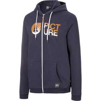 Picture - Basement Zip Hoodie Herren dark blue