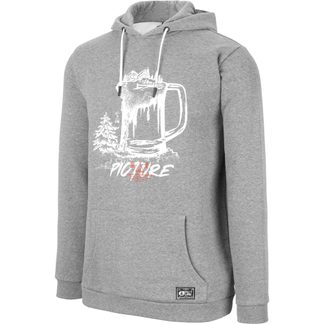 Picture - Bucket Hoodie Herren dark grey melange