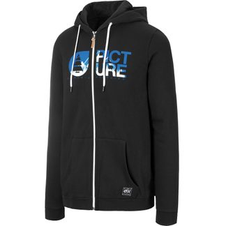 Picture - Basement Zip Hoodie Men black