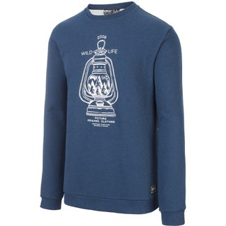 Picture - Appleton Crew Sweater Herren dark blue melange