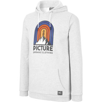 Picture - Rosswood Hoodie Herren light grey melange