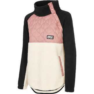 Picture - Face Sweater Damen misty pink
