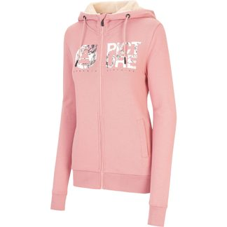 Picture - Basement Zip Hoodie Damen misty pink