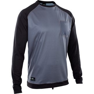 ION - Wetshirt LS Herren steel blue black