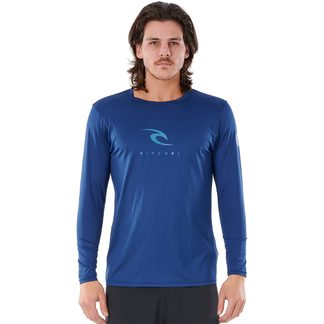 Rip Curl - Icon Relaxed Langarm UV-Shirt Herren navy