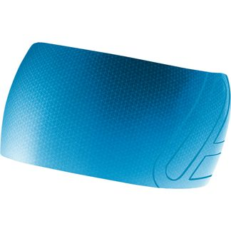 Löffler - Elastic Open Cut Stirnband Unisex blue lake