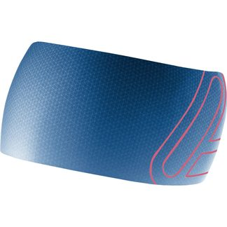 Löffler - Elastic Open Cut Headband Unisex deep water