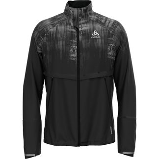 Odlo - Zeroweight Pro Warm Jacket Men black reflective graphic