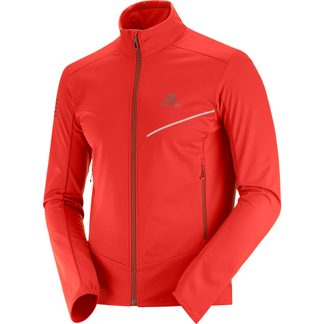 Salomon - RS Softshell Jacket Men fiery red biking red