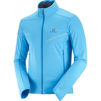Salomon - RS Softshell Jacket Men blithe indigo bunting