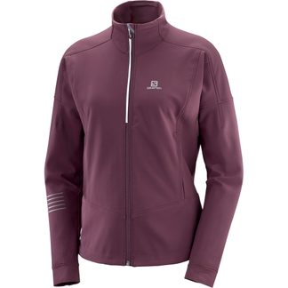 Salomon - Lightning Warm Softshell Jacket Women winetasting