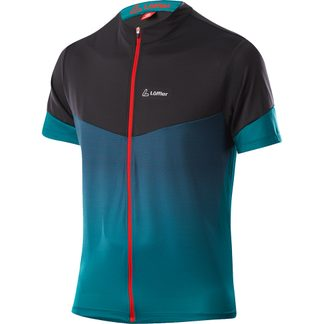 Löffler - FZ Stream Bike Shirt Herren blue lake