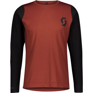 Scott - Trail Progressive Radtrikot Herren rust red black