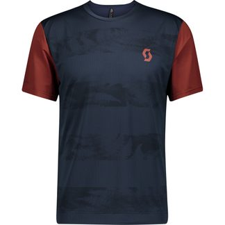 Scott - Trail Flow Radtrikot Herren midnight blue rust red
