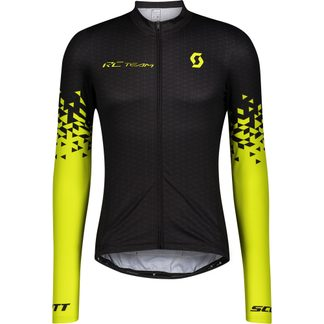 Scott - RC Team 10 Langarmtrikot Herren black sulphur yellow