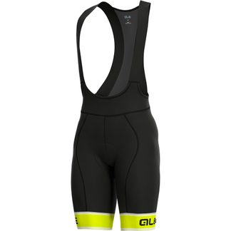 Alé - PRR Sella Bibshort Herren fluo yellow black