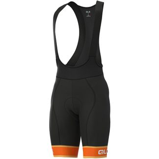 Alé - Graphics PRR Sella Bibshorts Herren black fluo orange