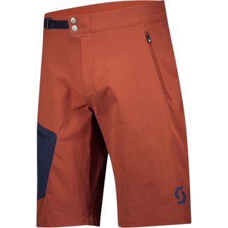 Scott - Explorair Light Bikeshorts Herren rust red midnight blue