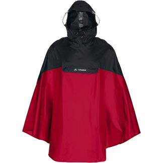 VAUDE - Covero Poncho Unisex indian red