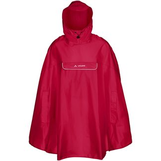 VAUDE - Valdipino Poncho Unisex indian red