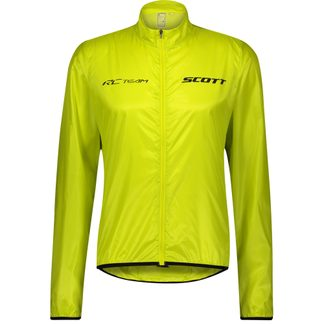 Scott - RC Team Windbreaker Jacket Men sulphur yellow black