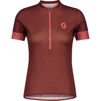 Scott - Endurance 20 Radtrikot Damen rust red brick red