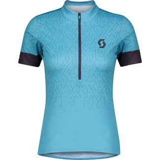 Scott - Endurance 20 Radtrikot Damen breeze blue dark purple