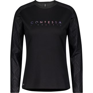 Scott - Trail Contessa Signature Biketrikot Damen black nitro purple