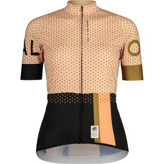 Maloja - GoldpippanM. Radtrikot Damen moonless multi